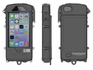 Cell Phone Case, Night Black ,Snow Lizard, SLSLXAPL05-BL