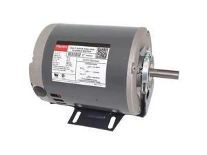 DAYTON 6K394 Motor, 1/2, 1/4 HP, 1725/1140 RPM, 115 V