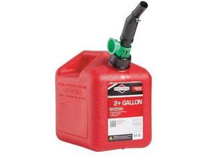 BRIGGS & STRATTON 85023G Gas Can,2 Gal.,Red,Self Vent,Poly