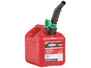 BRIGGS & STRATTON 85013G Gas Can,1 Gal.,Red,Self Vent,Poly