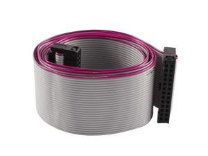 FC26P 100cm 26Pin Hard Drive Extension Wire Flat Ribbon Cable for Motherboard