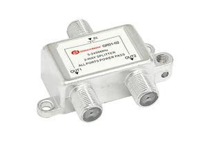 Unique Bargains 2 Way TV RF Coaxial Cable Splitter for CATV Signal