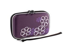"""2.5"""" Hard Drive Disk External HDD EVA Case Cover Pouch Storage Protection Purple"""