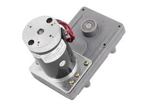 DC24V 70RPM High Torque Brushless DC Worm Gear Box Motor Speed Reducer