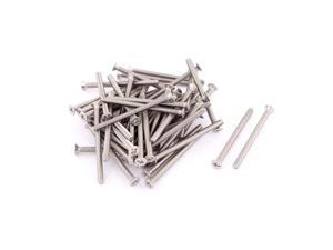 M3 x 40mm Phillips Head Stainless Steel Countersunk Bolts Screws Fasteners 50pcs