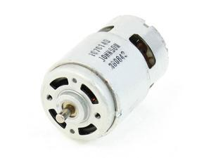DC 12V 3600RPM Rotary Speed 2 Terminals 2P Electric Magnetic Motor