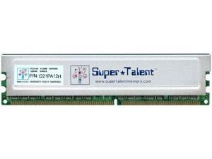 Super Talent D21PA12H 512MB PC-2100 184-pin DDR 266 Memory RAM