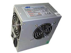 Ark Technology 500W Computer Power Supply ARK500/8D, Supports SATA, w/ Dual 80mm