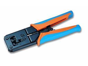 Ethernet Network RJ45 Crimper / RJ12 Crimping Tool by BattleBorn Cable