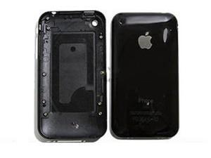 CLEAR Back Cover Plate for iPhone 3GS 16GB (Black)
