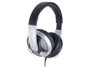 Oblanc OG-AUD63044 U.F.O. Around-Ear Audio Headphones with Invisible In-line Microphone SILVER