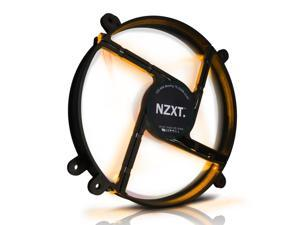 NZXT Technologies FS-200LED Orange 200MM Silent 700 rpm LED Fan with On/Off Switch