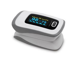 MeasuPro OX250 Instant Read Digital Pulse Oximeter with Alarm Setting