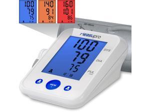 MeasuPro Digital Upper Arm Blood Pressure Monitor w/ Heart Rate Monitor + IHB