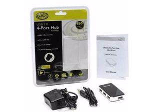4 Port USB 2.0 Aluminum Hub - UH5600AL