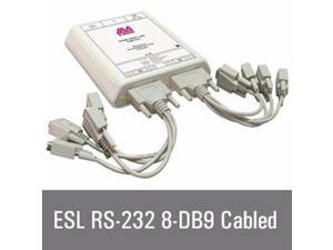8 Rs232 IP Enabled 9 Pin Seria - ESL 8-232-DB9-CBL