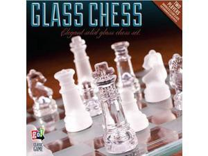 Glass Chess Set by Go! Games