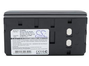 Replacement Battery for Sony NP-33, NP-55, NP-66, NP-66H, NP-68, NP-77, NP-98