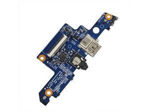 New HP EliteBook 8540w Media Card Reader Audio Port Board 455N0R32L01 LS-4954P