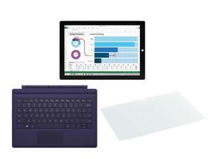 "Microsoft Surface Pro 3 Intel Core i5 CPU 4 GB RAM 128 GB Storage 12.0"" Tablet PC MQ2-00001, Microsoft ..."