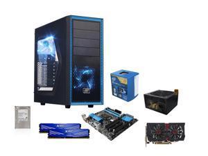 Intel i5-4590 4-Core 3.3GHz CPU, ASRock H97M Pro4 MOBO, 1TB HDD, ADATA 2 x 4GB RAM, ASUS GTX960 ...