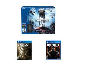 PlayStation 4 Console - The Star Wars Battlefront 500GB Bundle + Fallout 4 - PlayStation 4 + Call of Duty: Black ...
