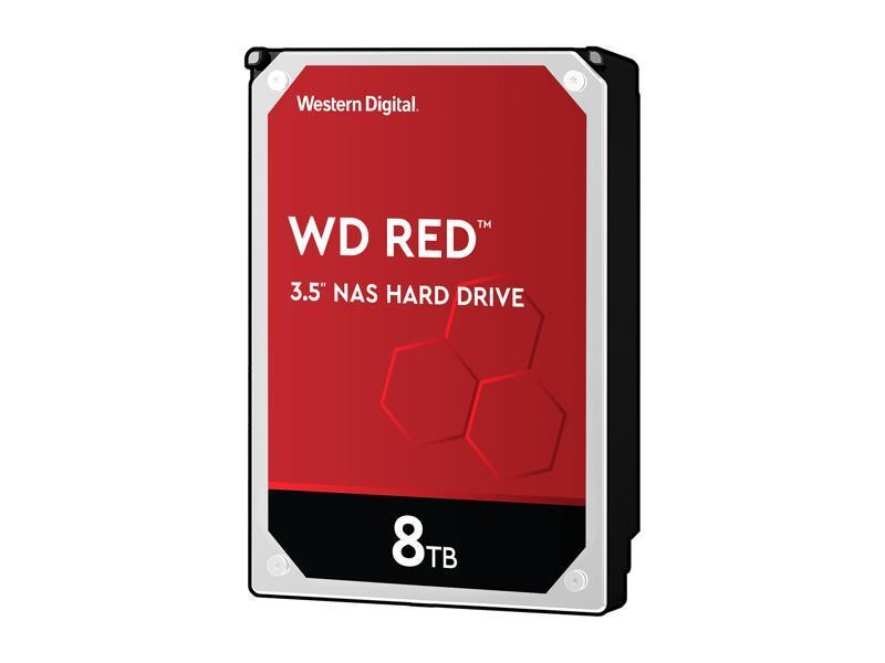WD Red 8TB NAS Hard Disk Drive - 5400 RPM Class SATA 6Gb/s