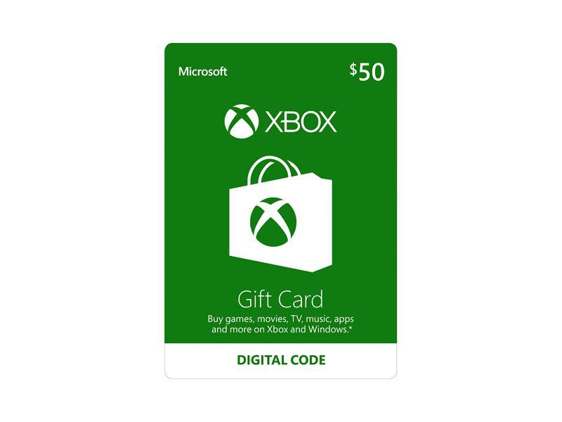 Xbox Gift Card 50 Us Email Delivery Newegg Com
