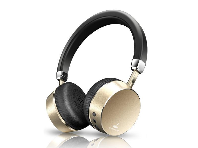 Meidong E6 Anc Noise Cancelling Bluetooth Headphones On Ear Wireless Headphone With Mic Lightweight 10hs Playing Time For Iphone Ipad Mp3 Mp4 Newegg Com