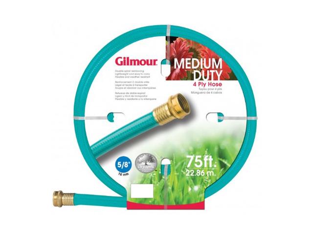 """Gilmour 5/8"""" x 75'  4 Ply Medium Duty Garden Hose"""