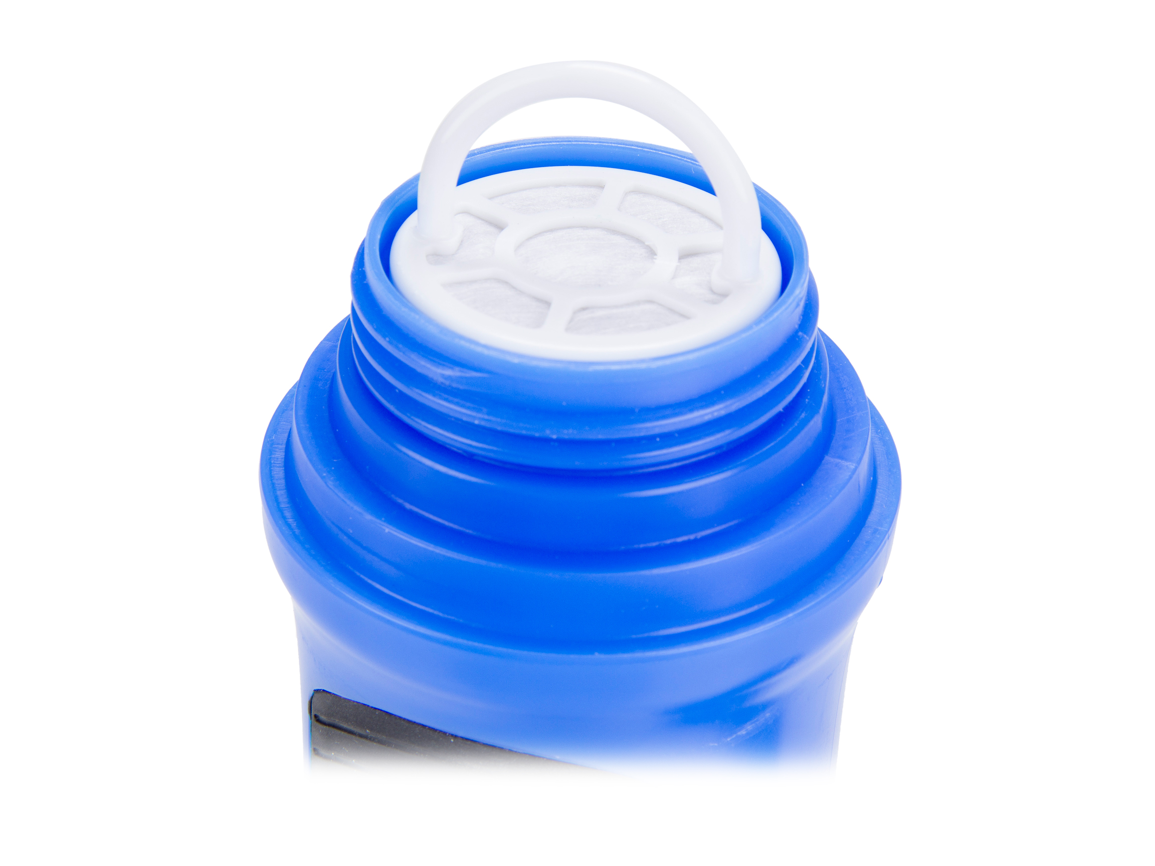 Fit & Fresh CleanTek Filtered Water Bottle, Blue