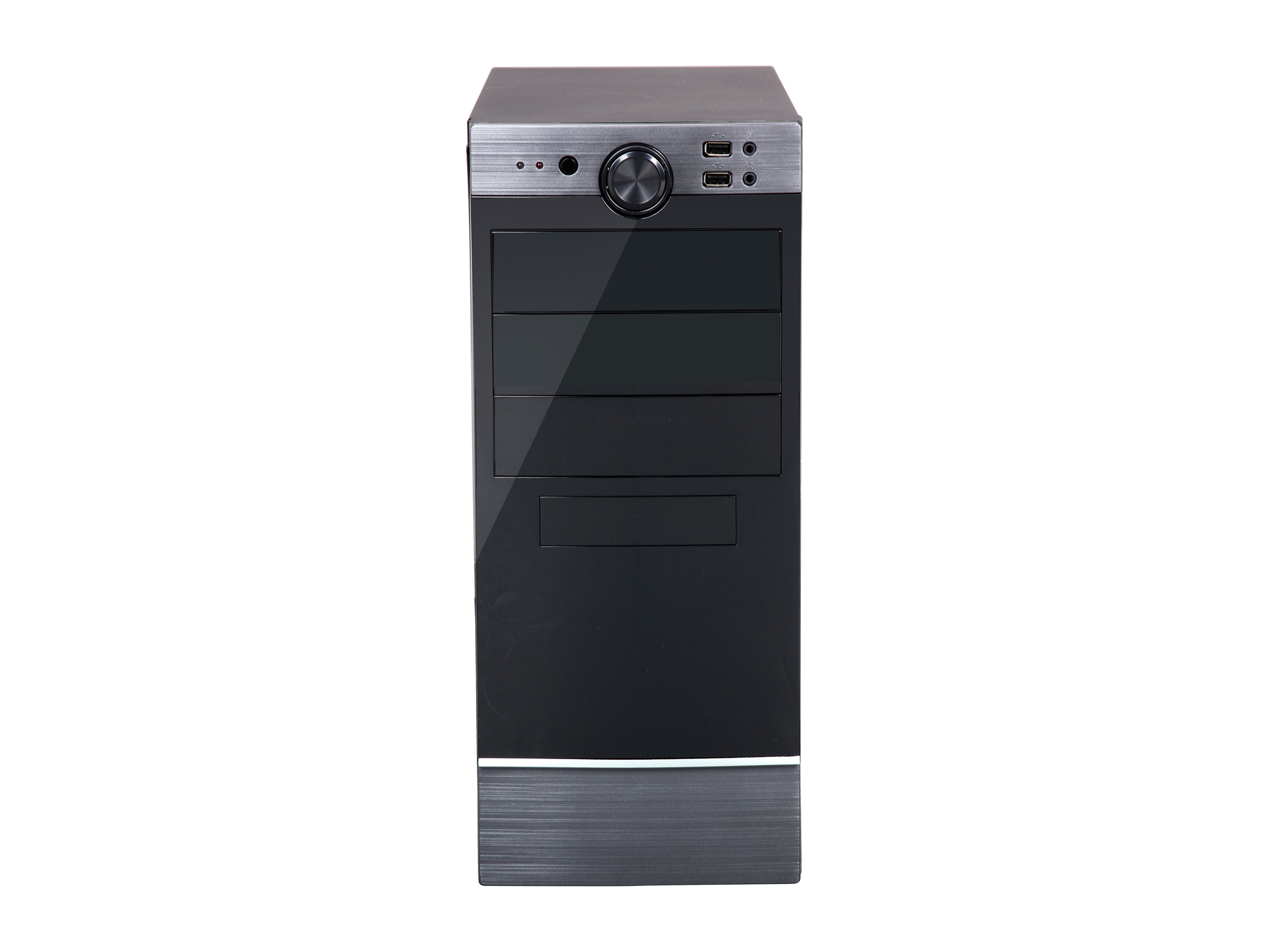 Rosewill FB 04 Dual Fans ATX Mid Tower Computer Case