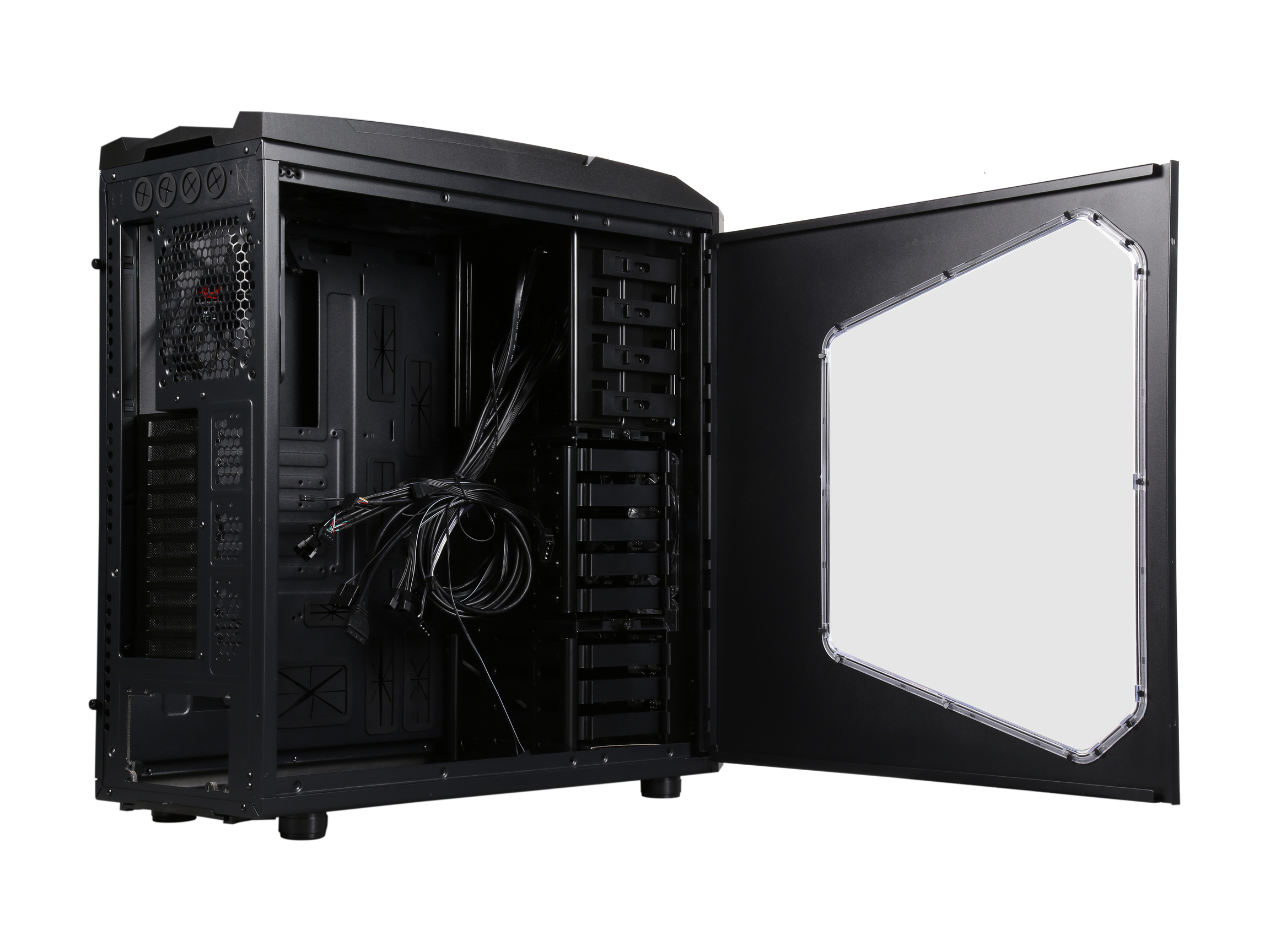 Rosewill Gaming Computer Case Atx Full Tower 5 Fans Pre