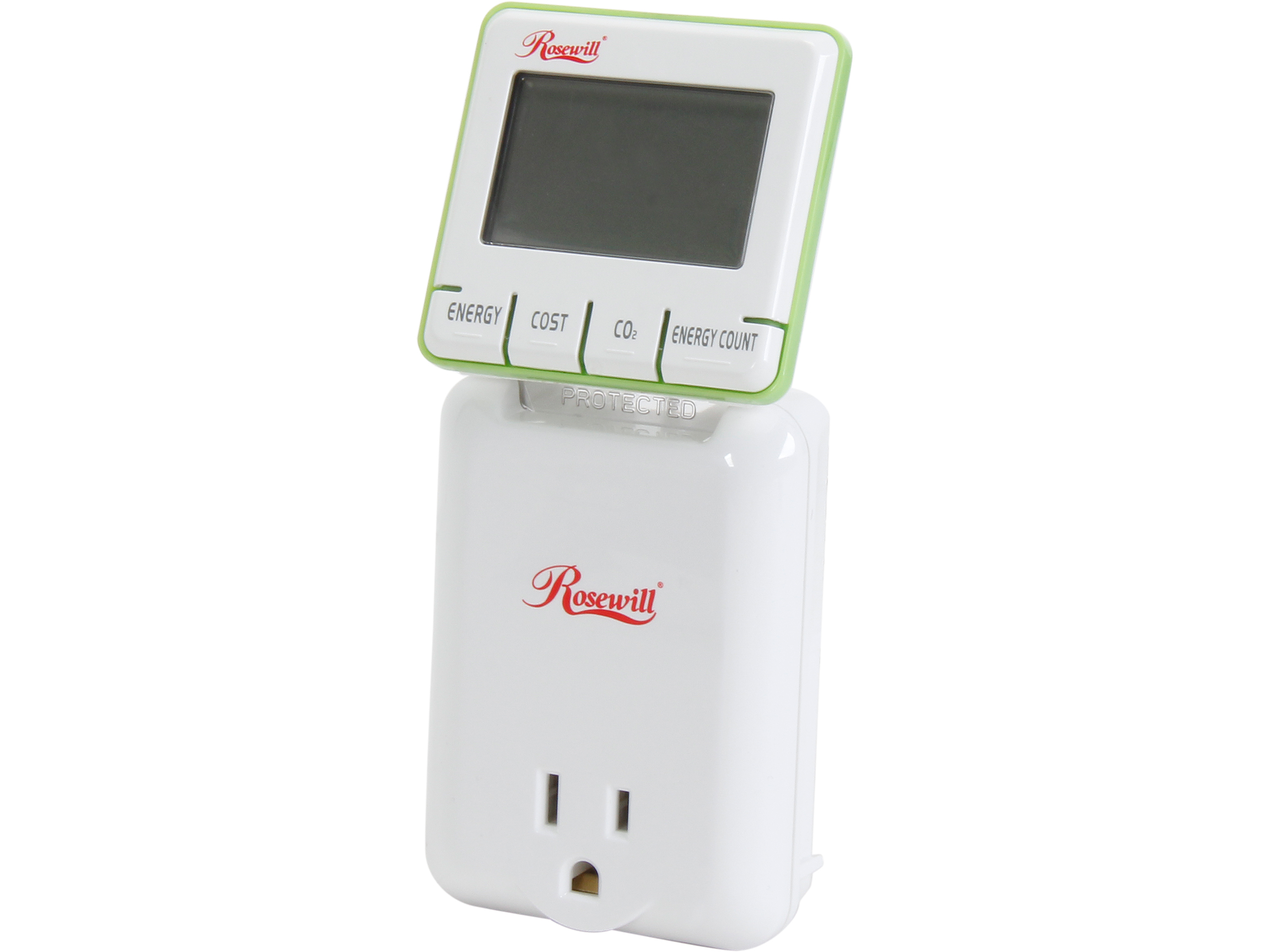 Outlet Wattage Meter : Rosewill rhsp electricity load meter and energy