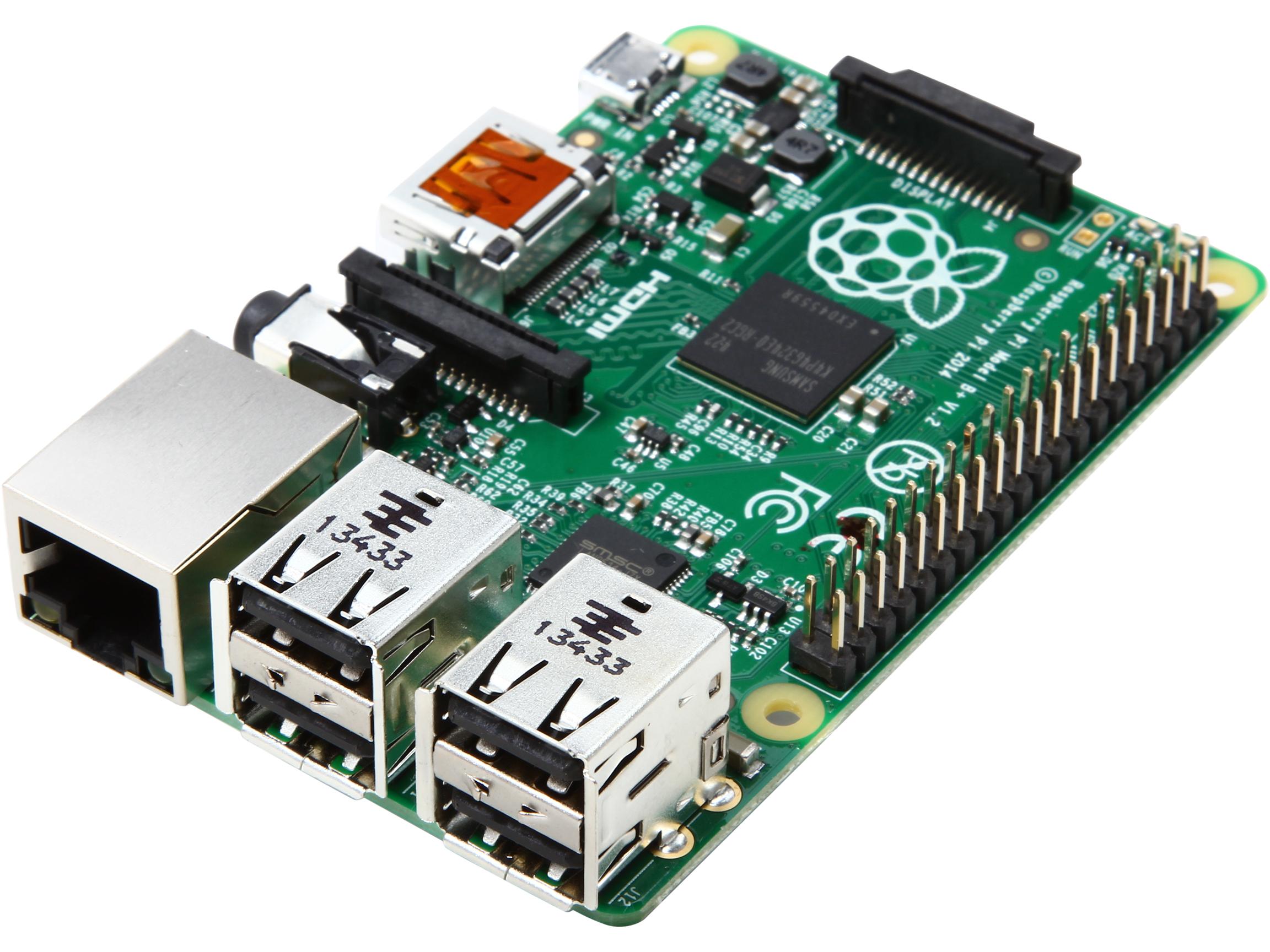 Raspberry Pi B+ Broadcom BCM2835 SoC ARM11 700 MHz