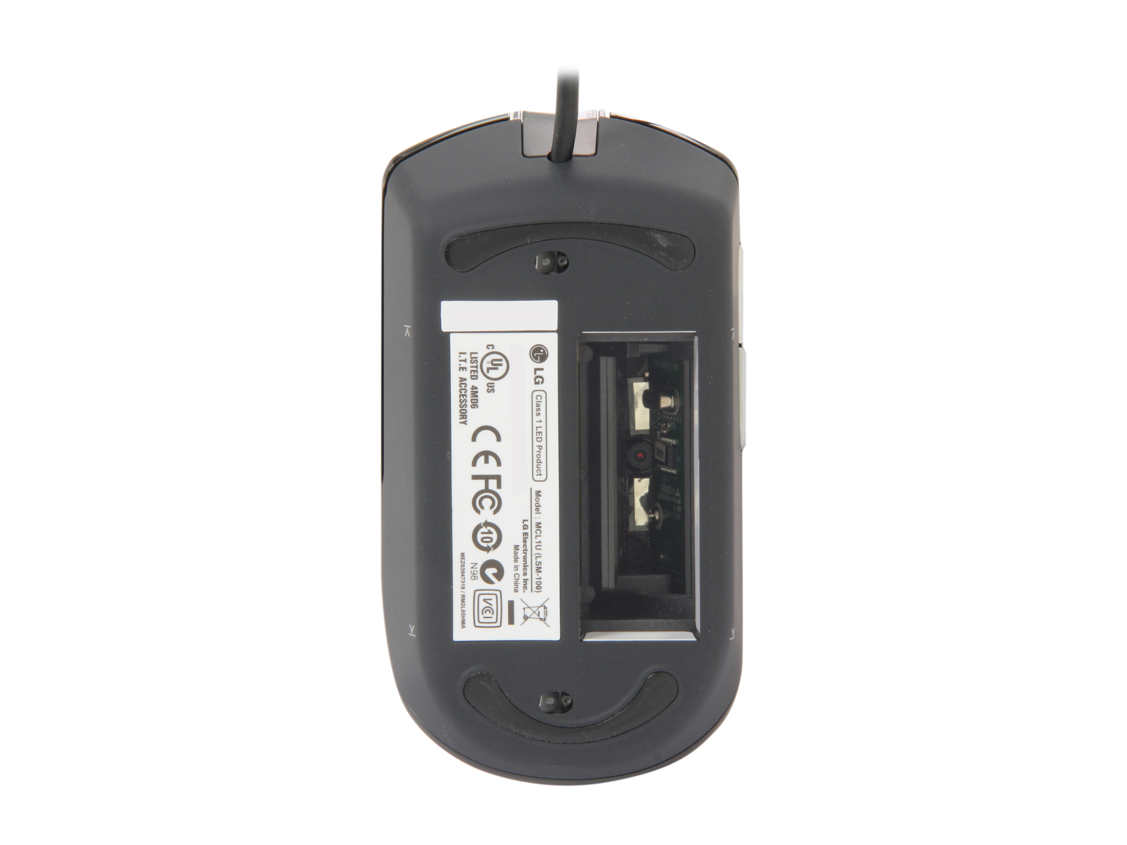 LG LSM-100 (MCL1ULOGE.CH3MAC) 1200dpi Laser 5 Button  Smart Mouse Scanner