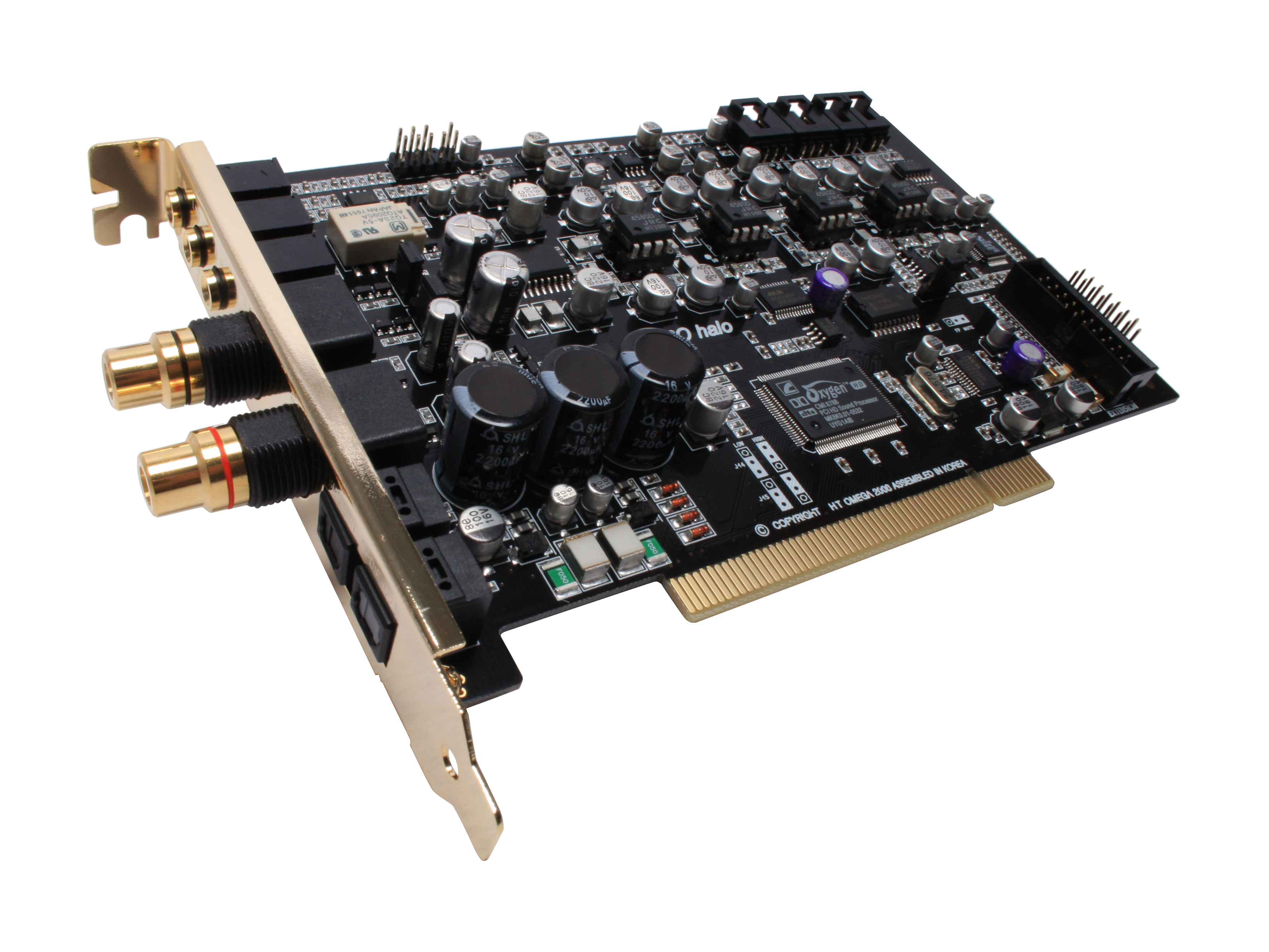 Ht Omega Claro Halo Sound Card W A Built In Hi Fi Headphone Amplifier