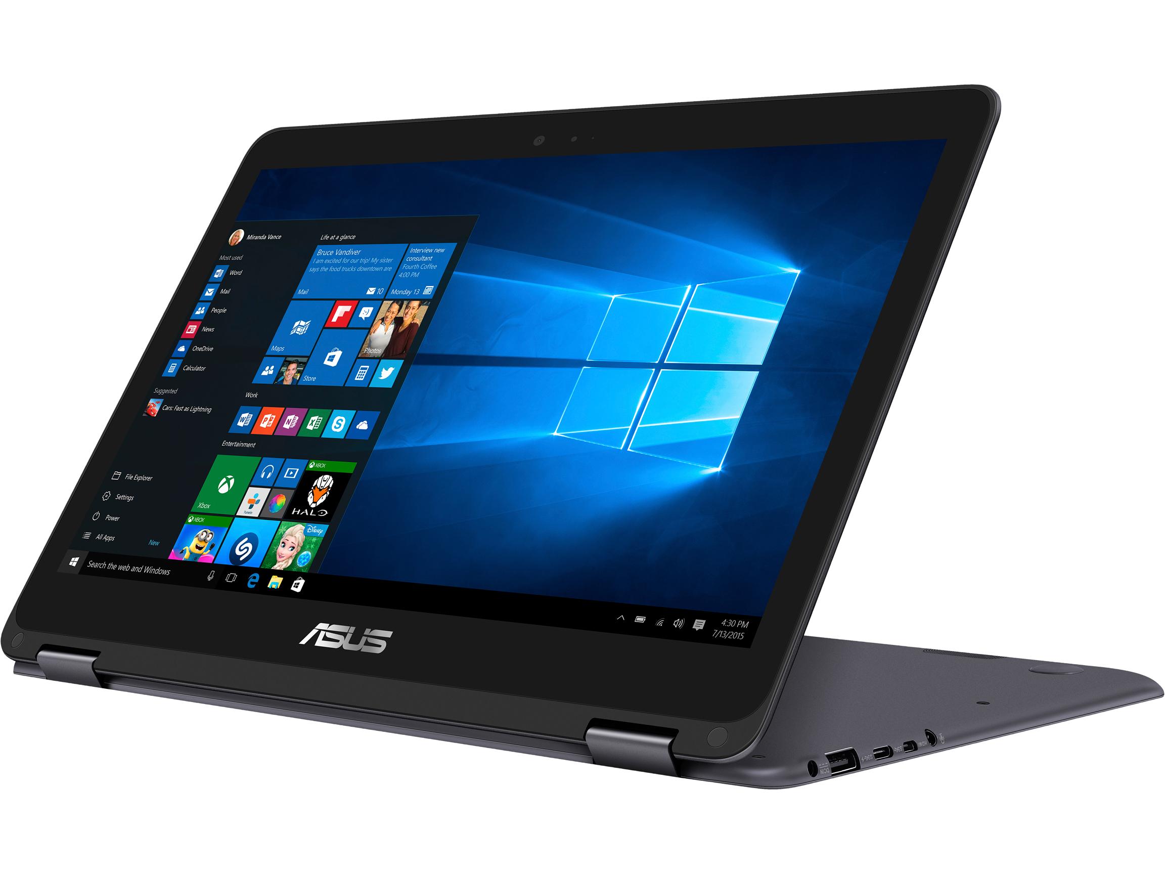 "Asus ZenBook Flip 13.3"" FHD Intel Core m3 Convertible Laptop"