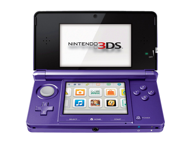 Nintendo 3DS Hardware Midnight Purple