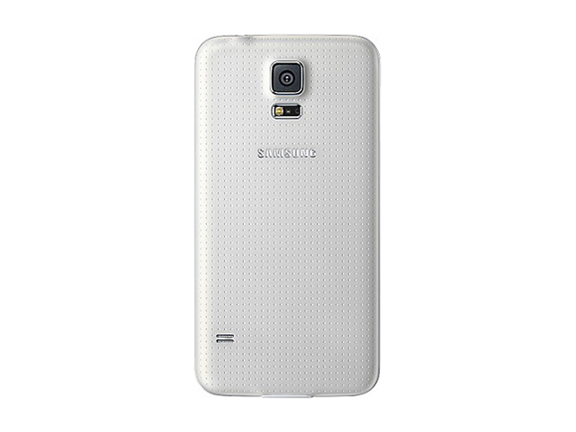 Samsung Galaxy S5 Shimmering White 3G Quad Core 2.5GHz Unlocked GSM Phone + UAG White Case + H2O SIM Card