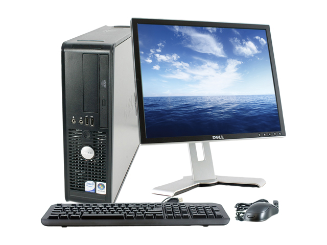 "Refurbished: Dell Optiplex 755 Small Form Factor Desktop PC Intel Core 2 Duo 2.3Ghz 2GB RAM 80 HDD Windows 7 Pro with 19"" Monitor"