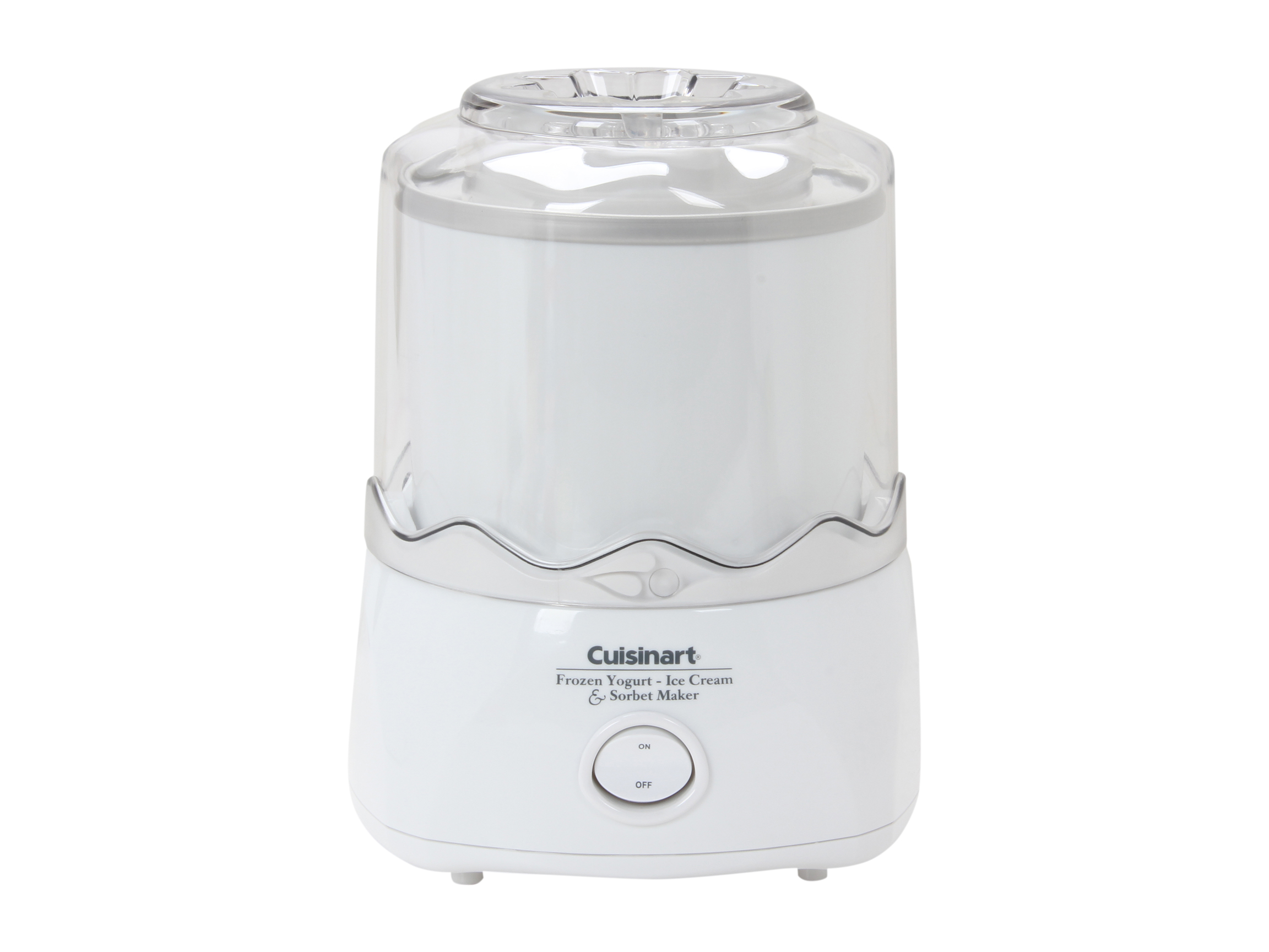 Refurbished: Cuisinart ICE-20 Automatic Frozen Yogurt-Ice Cream & Sorbet Maker