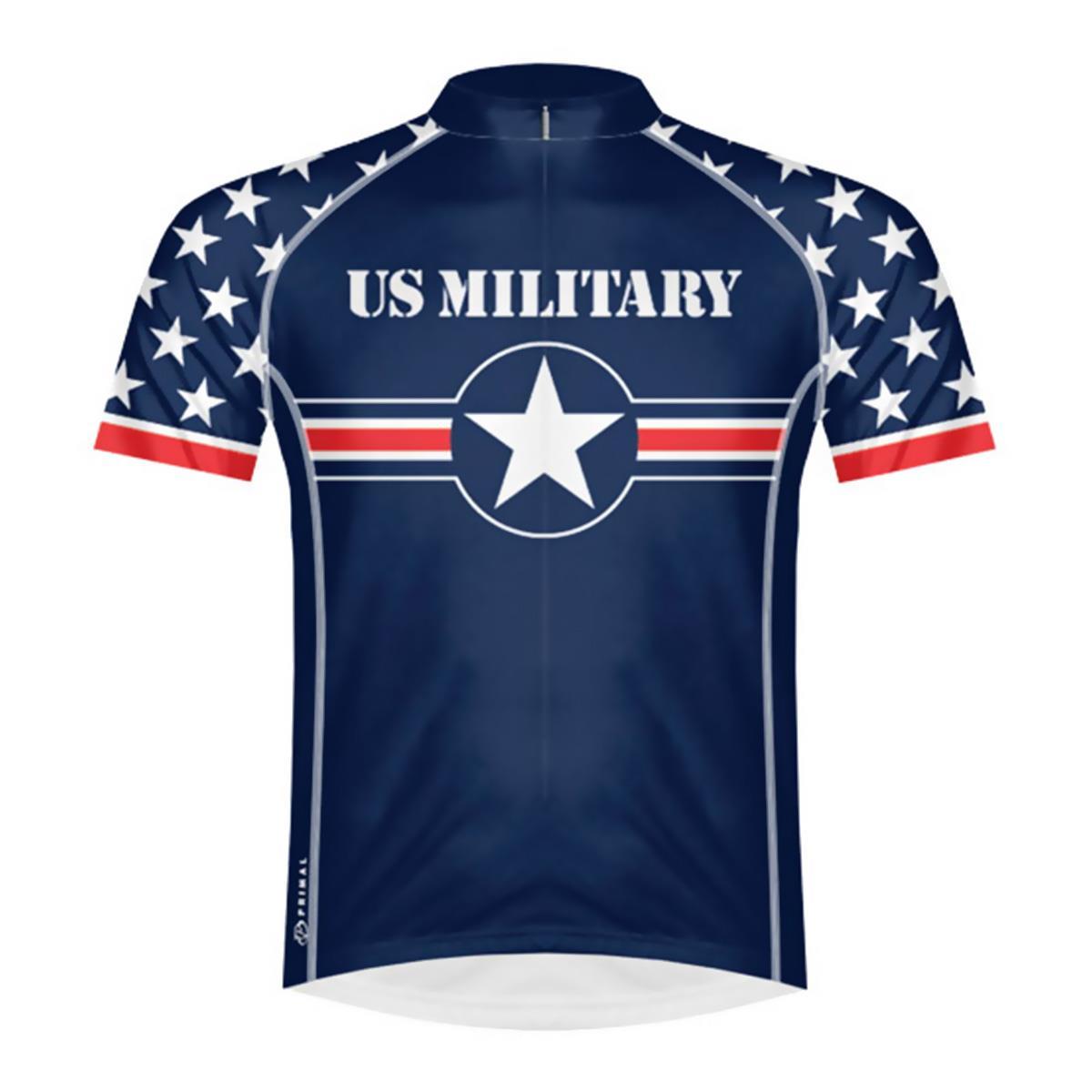 b975dab69 Primal Wear Men s U.S. Military Team 2015 Cycling Jersey UMI5J20M (XL)