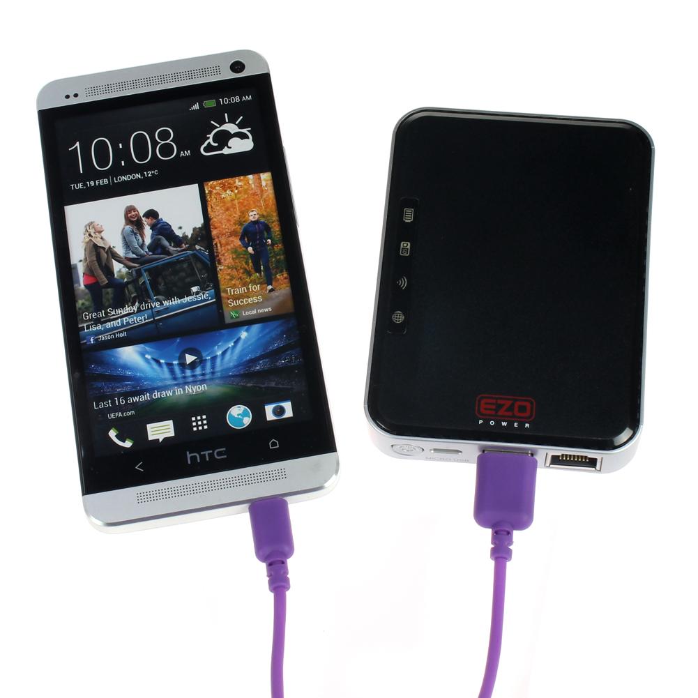 EZOPower Portable Wireless SD Card Reader & USB External ...