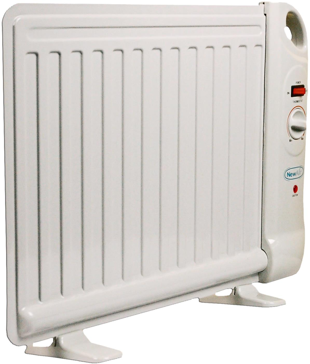 188a6133996 NewAir AH 400 Energy Efficient 400 Watt Oil Filled Personal Space Heater