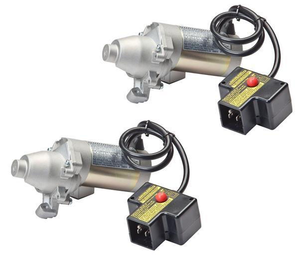 Oregon (2 Pack) 33 746 Replacement Electric Starter Motor, 120 volt