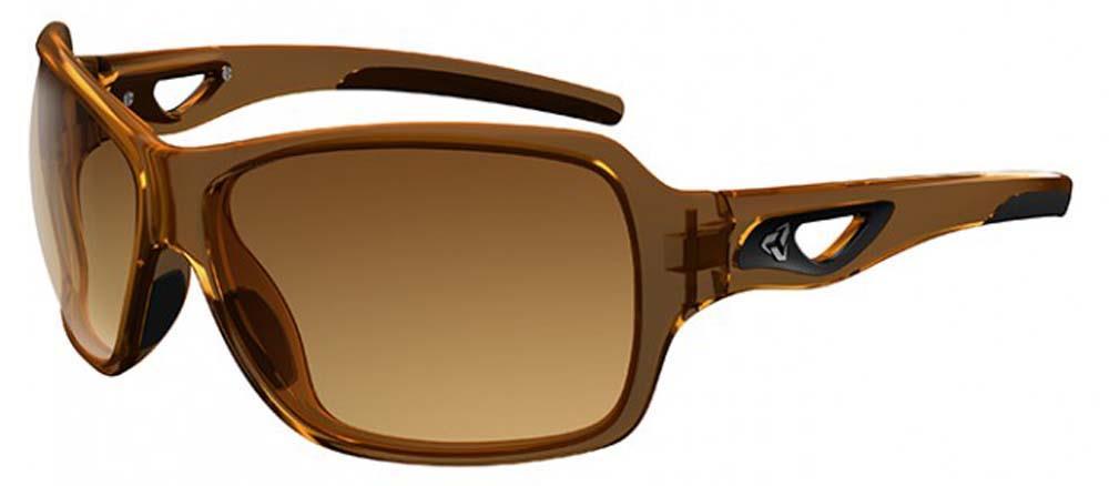 2c662a82698 Ryders Eyewear Carlita Crystal Brown Frame Brown Gradient Lens Sunglasses