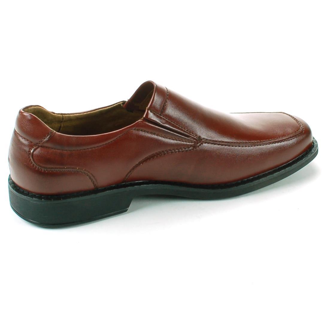 ferro aldo mens dress shoes leather slip on loafers