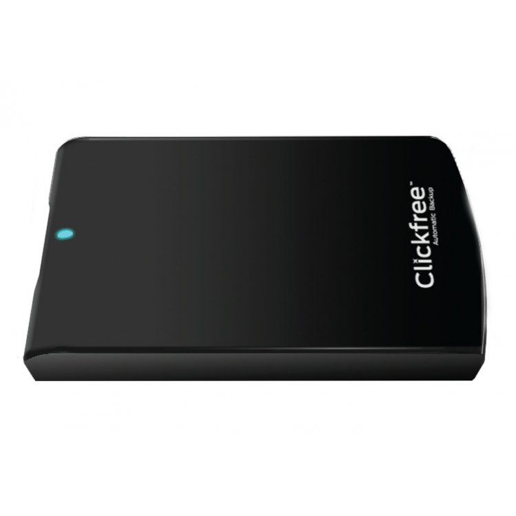 Clickfree 1TB C6 USB 3.0 Portable Hard Drive Total Automatic Computer Backup Mac & PC