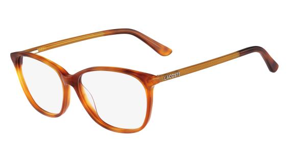 c45ac1b2210 LACOSTE Eyeglasses L2690 218 Blonde Havana 53MM on PopScreen